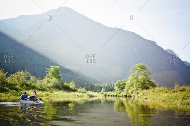 Widgeon Creek Canoe Trip