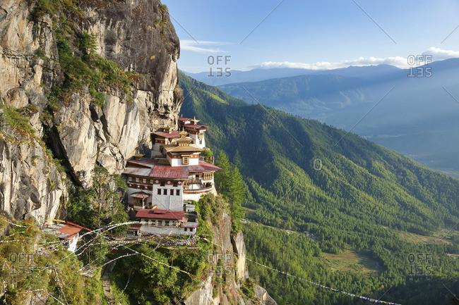 Tigers Nest in Paro Valley, Bhutan