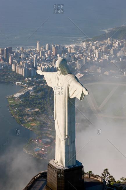 Christ Redeemer statue, Corcovado, Rio de Janeiro, Brazil