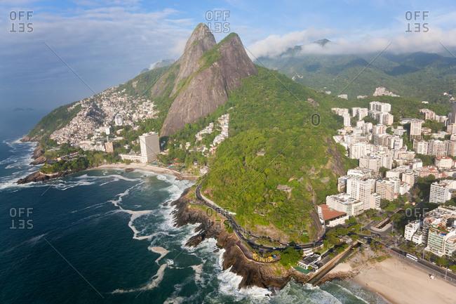 Dois Irmaos mountain, Ipanema, Rio de Janeiro, Brazil