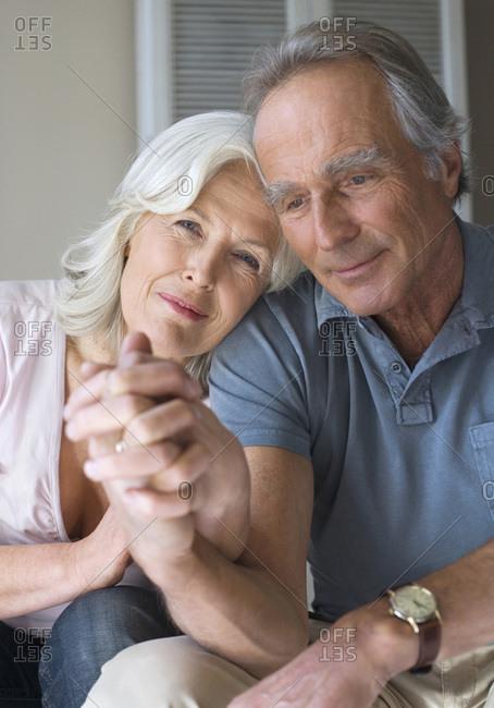 Senior couple, portrait