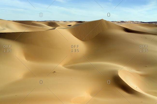 These luscious dunes are located in the Erg de Bilma east of Bilma.