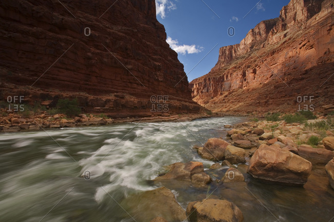 North Canyon Rapid, Marble Canyon, Grand Canyon National Park, Arizona