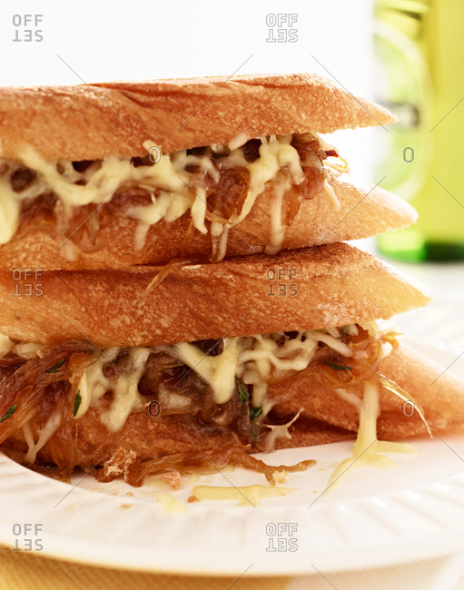French onion sandwiches
