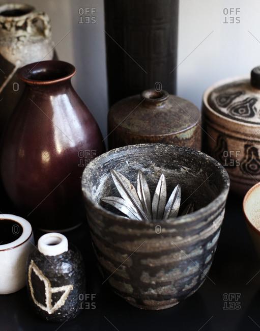 Decorative jars and vases