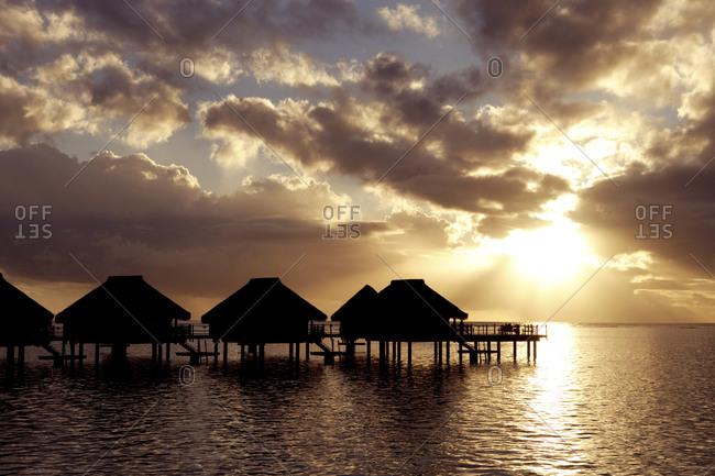 Overwater Bungalows, Tahiti