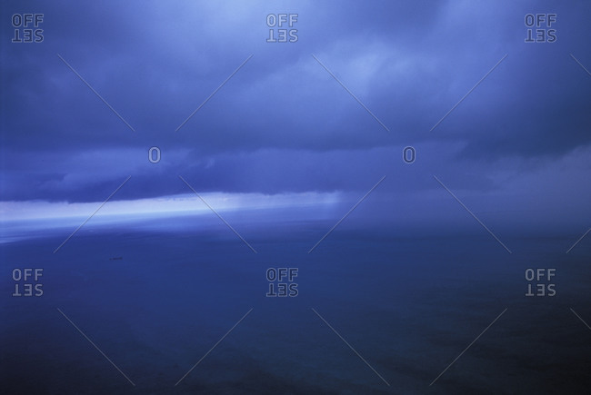 Rainstorm at Sea