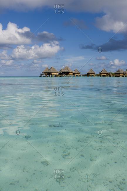 Lagoon with Hotel Kia Ora in background