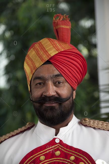 Portrait of Indian sikh man