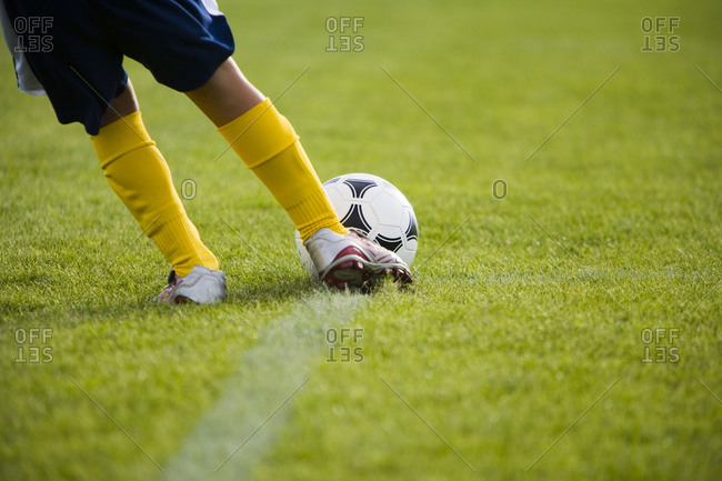 Youth soccer player - Offset Collection