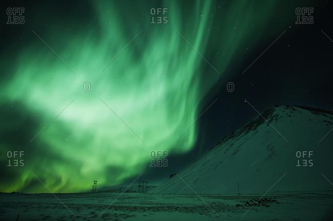 """Aurora Borealis"" in Iceland"