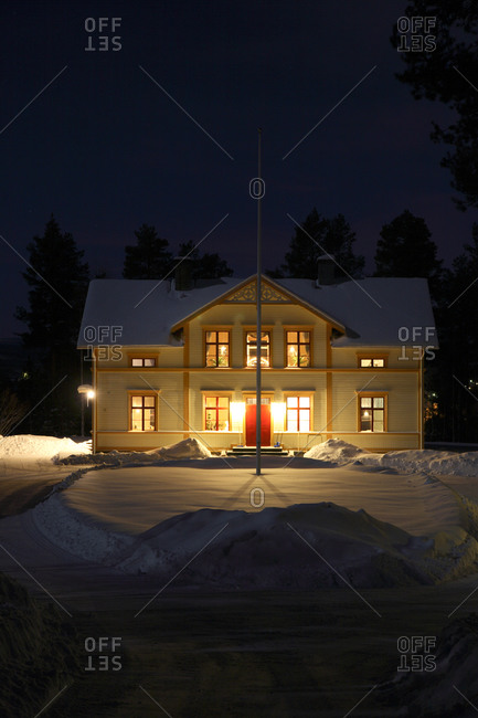 An old house,  Norrbotten,  Sweden
