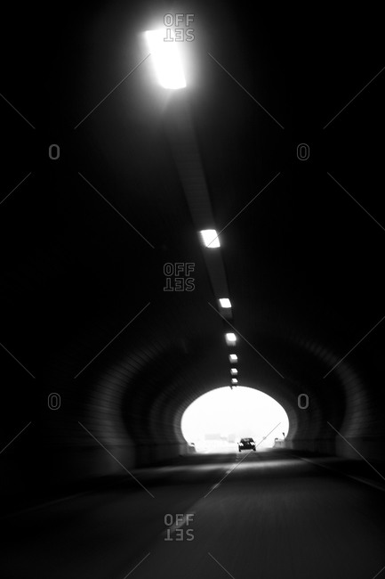 Light at the end of a tunnel,  Sweden