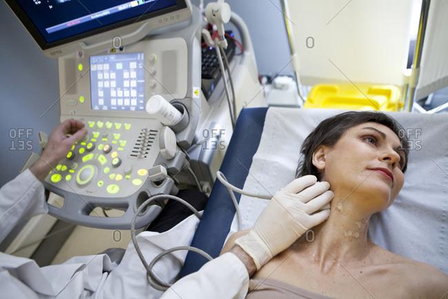 Doppler ultrasound scan - Offset Collection