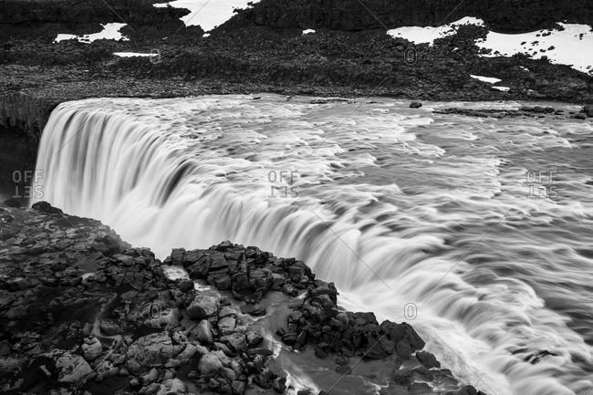 The waterfall, Detifoss