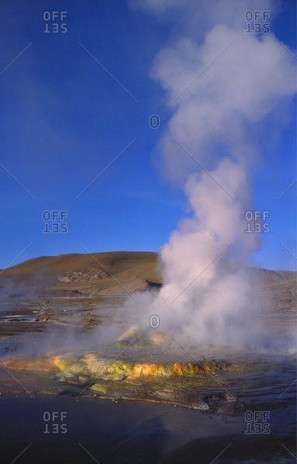 Geysers and Fumaroles, El Tatio, Atacama, Chile