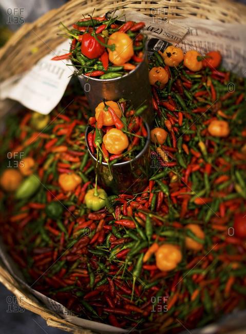 Brazilian Red Hots Stock Photos Offset