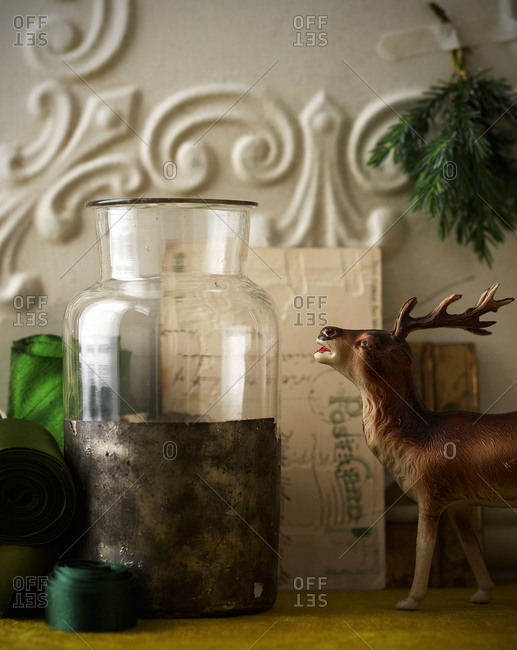 Still life with vintage objects