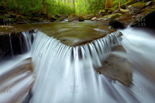 Water's Edge, Cascade on Porter's Creek