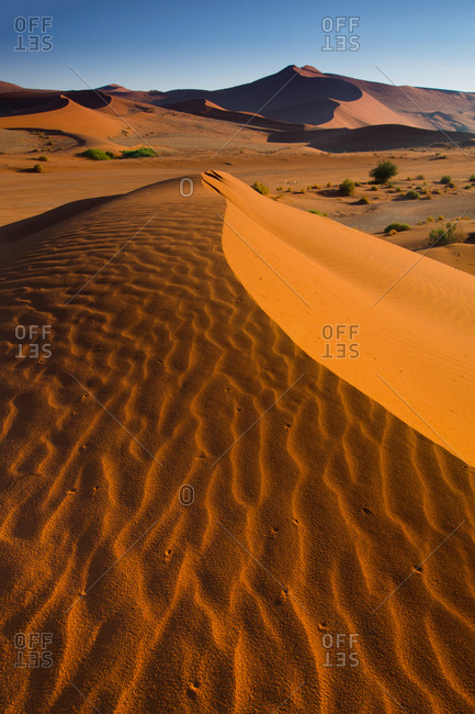 Dune World, Sossusvlei dunes, Namib-Naukluft National Park, Namibia