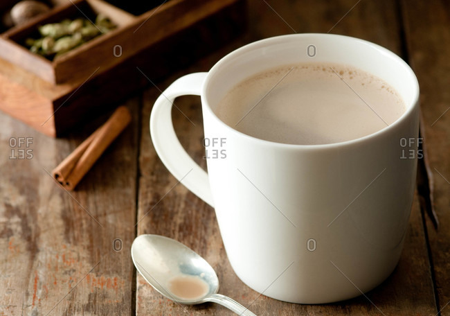 A chai latte