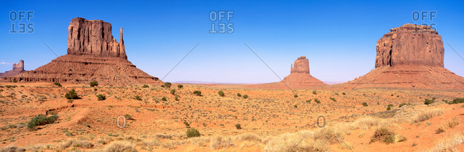 Monument Valley Tribal Park, Navajo Reservation, AZ