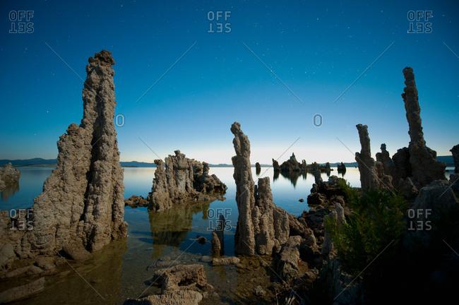 Tufa formations at Mono Lake, Mono County, California, USA