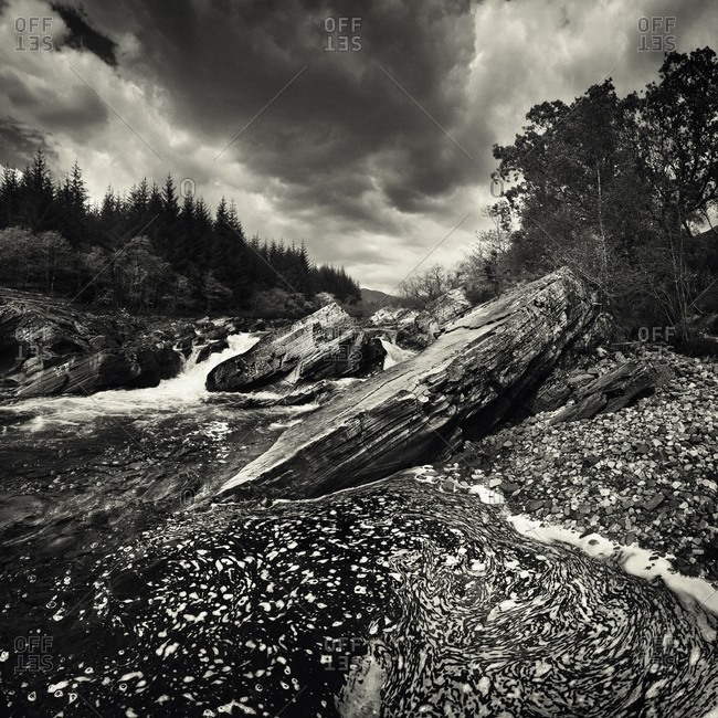 River Orchy from the Offset Collection