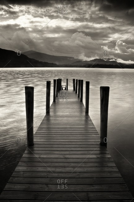 Pier at Ullswate - Offset Collection