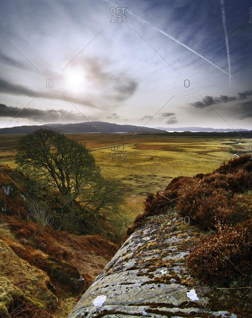 Loch Crinan from Dunadd