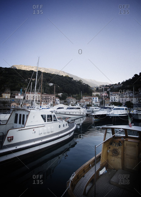 Harbor in Maratea