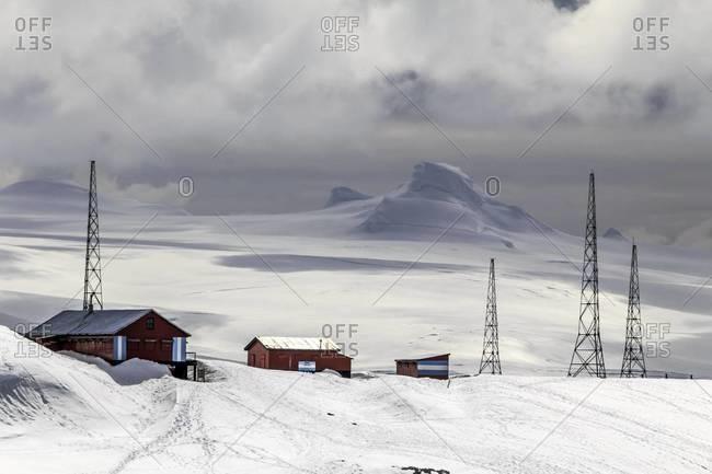 Argentine research base on Half Moon Island