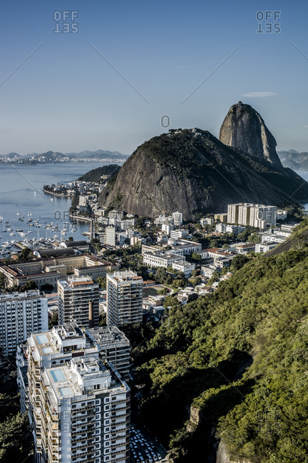 View of Sugarloaf Mountain at Rio de Janeiro