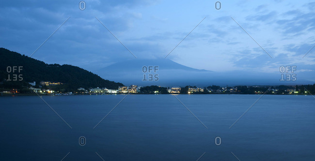 Lake Kawaguchiko, Yamanashi Prefecture, Japan