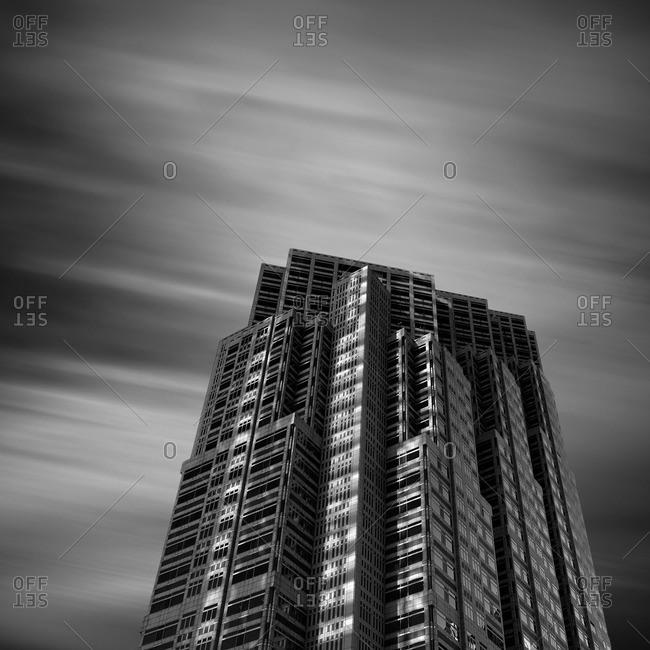 Building in Nishi-Shinjuku district, Tokyo