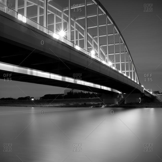 The Maruko Bridge over the Tama River, Kanagawa Prefecture, Japan