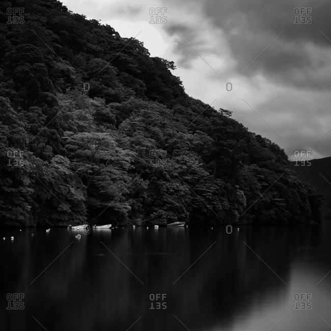 Lake Ashi at Hakone, Kanagawa Prefecture, Japan