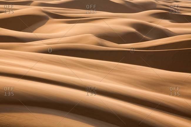 Desert landscape in Namibia - Offset