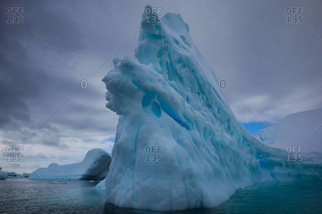 Imposing iceberg in Antarctica - Offset
