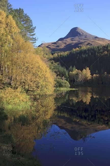 The Pap of Glencoe, seen from across Loch Leven