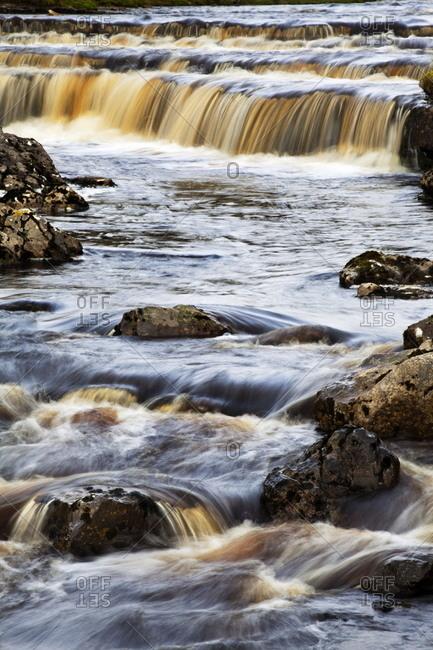 Waterfall in Hull Pot Beck