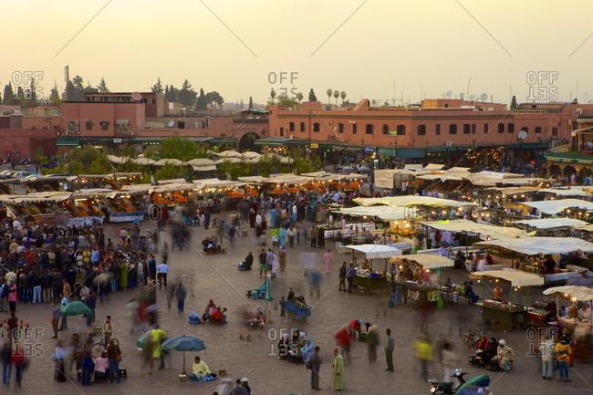 Marrakesh at dusk