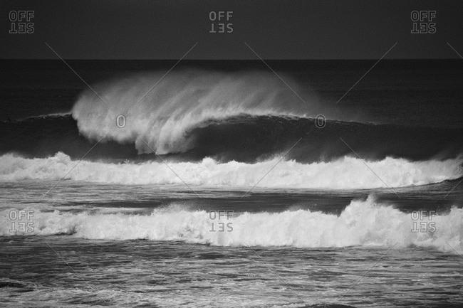 Wave off the coast of Nicaragua