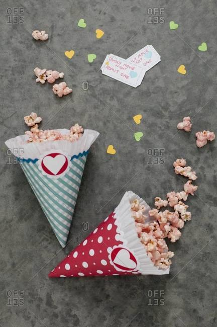 Popcorn for family movie night