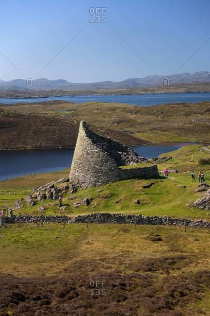 Dun Carloway broch in the Isle of Lewis, Scotland