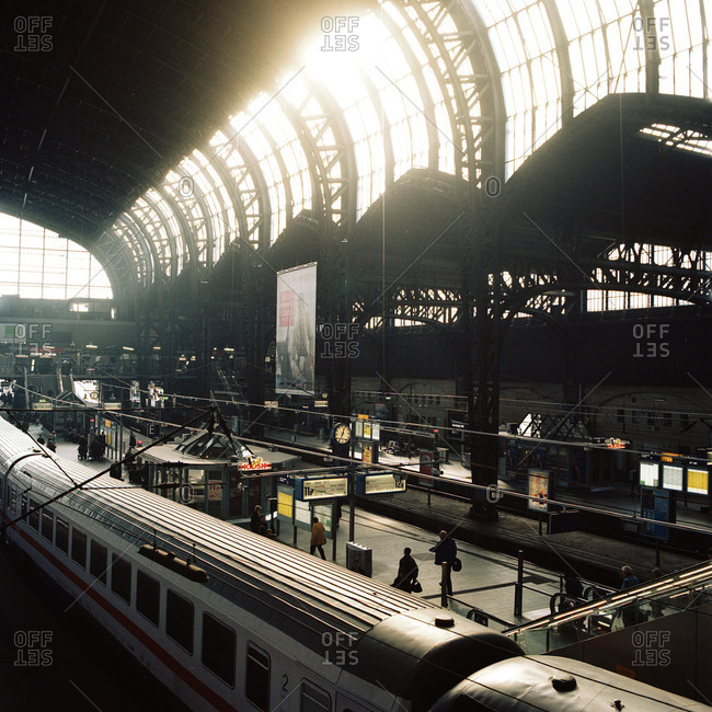 Hamburg Hauptbahnhof in Germany