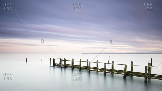 Landing stage at Baltic Sea