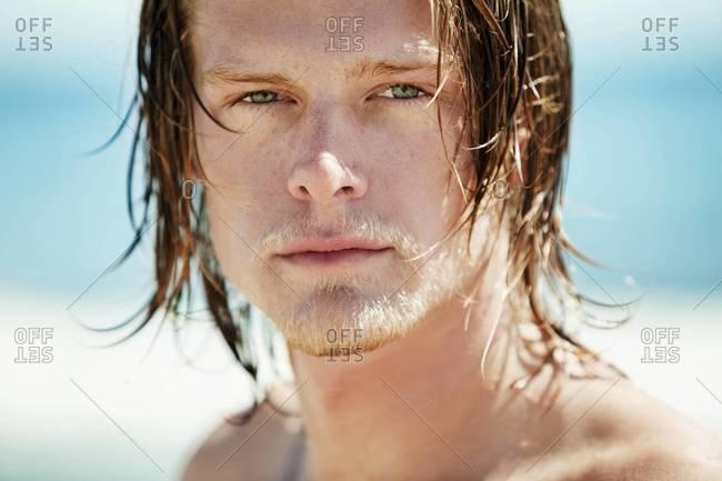 Portrait of surfer