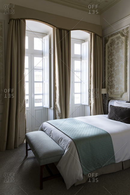 Detail of bedroom interior