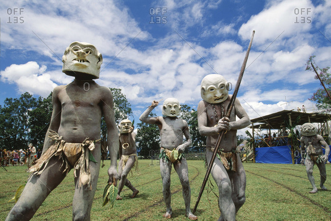 The Mud Men of Asaro in Papua New Guinea